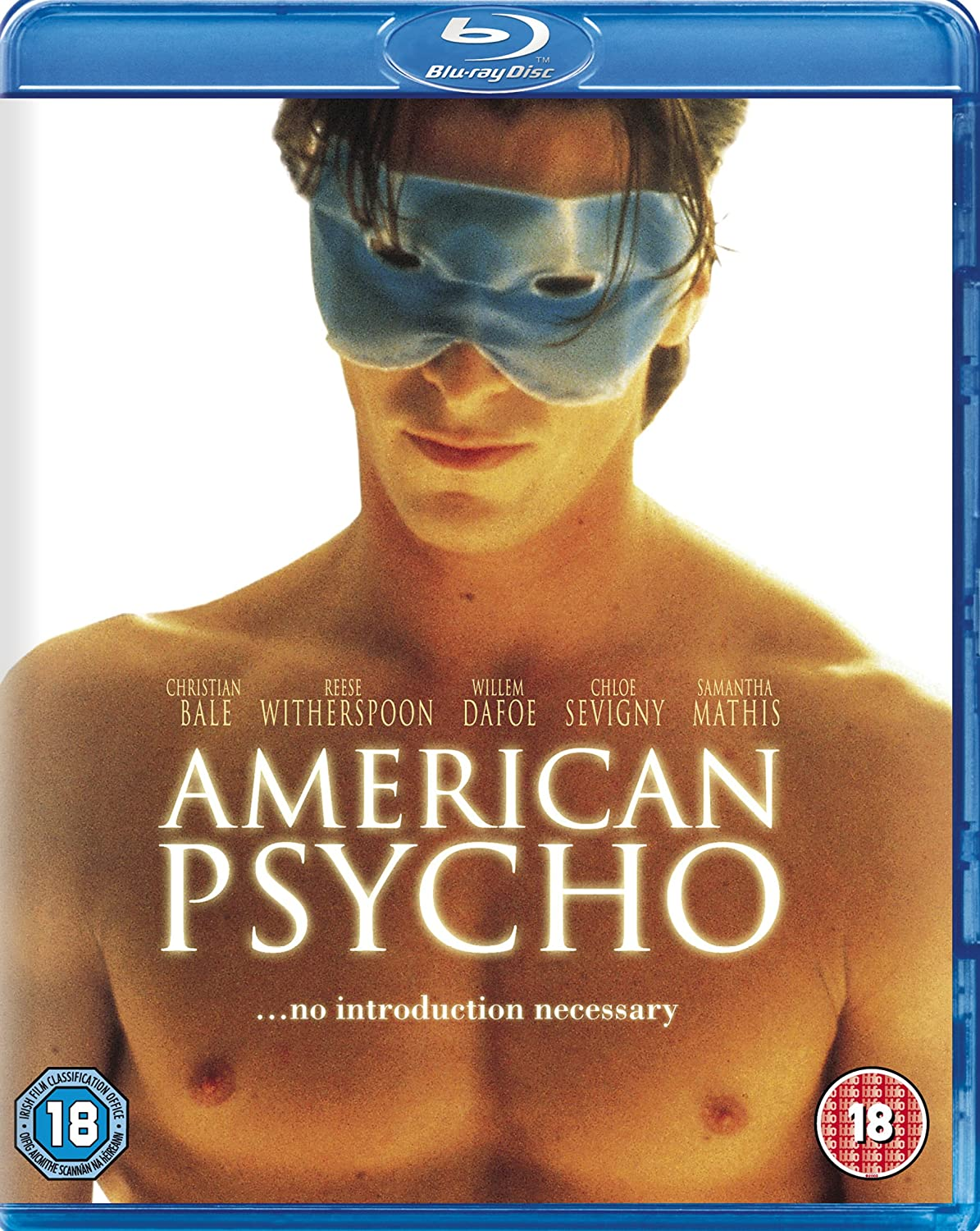 american psycho blu ray amazon co uk christian bale willem american psycho blu ray amazon co uk christian bale willem dafoe jared leto josh lucas samantha mathis matt ross bill sage chloeuml sevigny