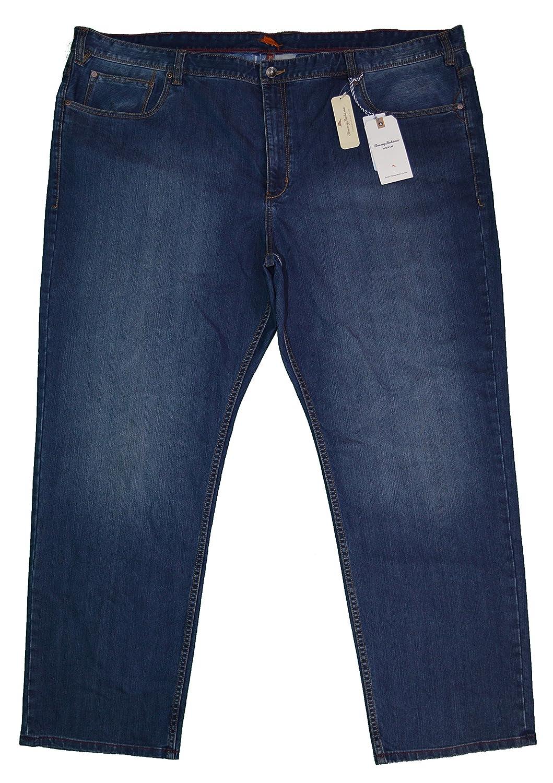 Mens 52 x 32 Sorrento Dark Medium Wash Tommy Bahama Denim Jeans Big /& Tall