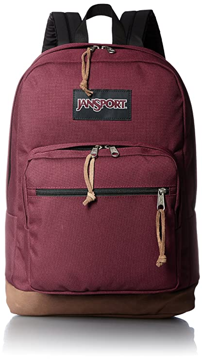 4a834fba9 JanSport Right Pack Laptop Backpack - Russet Red: Amazon.ca: Sports &  Outdoors