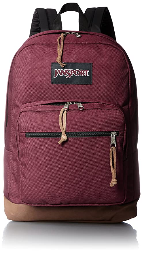 JanSport Right Pack Laptop Backpack - Russet Red