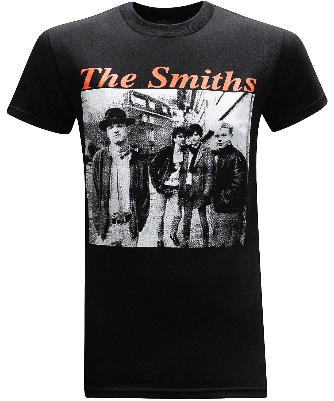 14ec72a6 Amazon.com: The Smiths Rock Band Men's T-Shirt: Clothing