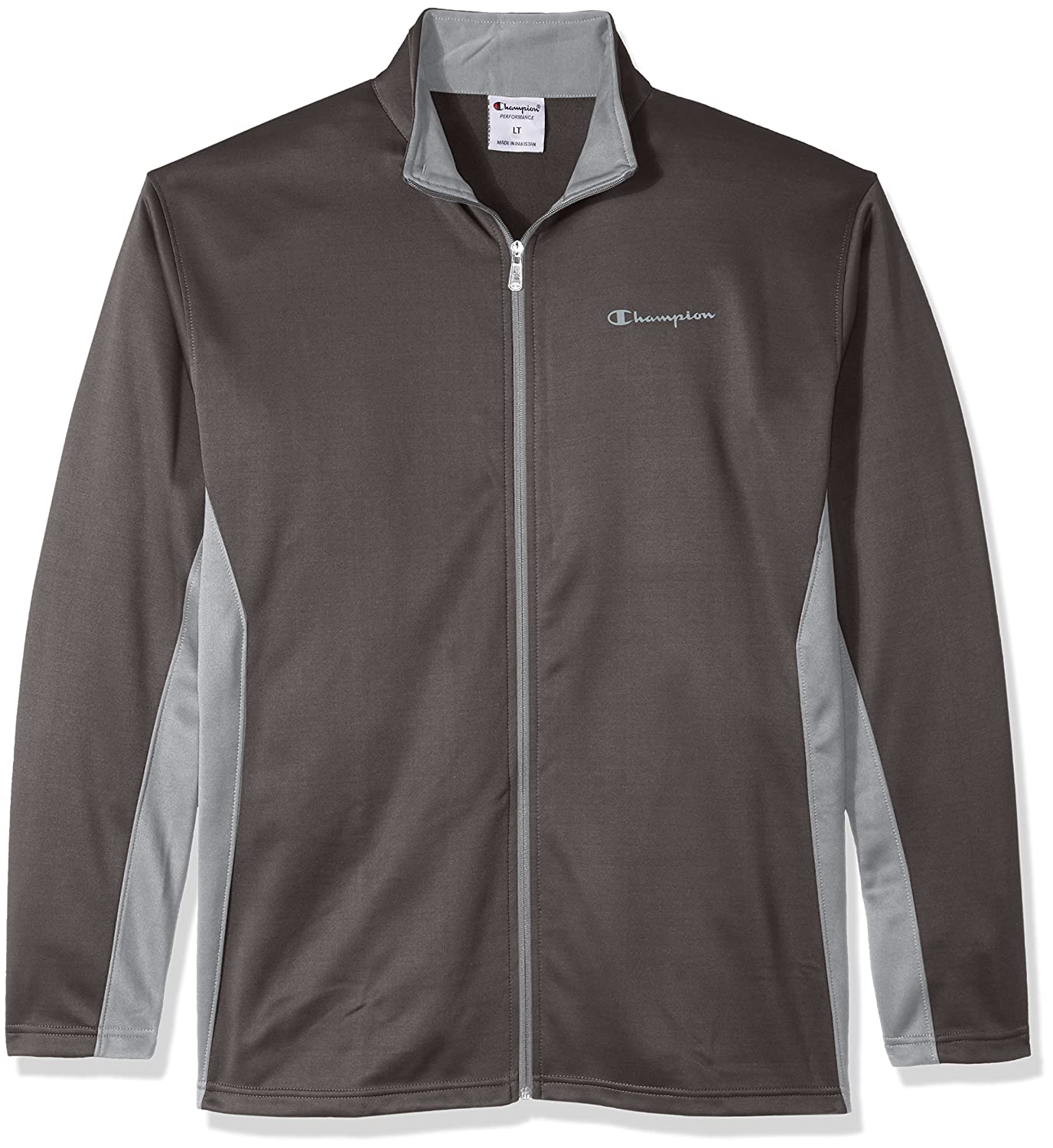 Champion Mens Big-Tall Full Zip C-Vapor with Side Panel Contrast Zip CH231AM