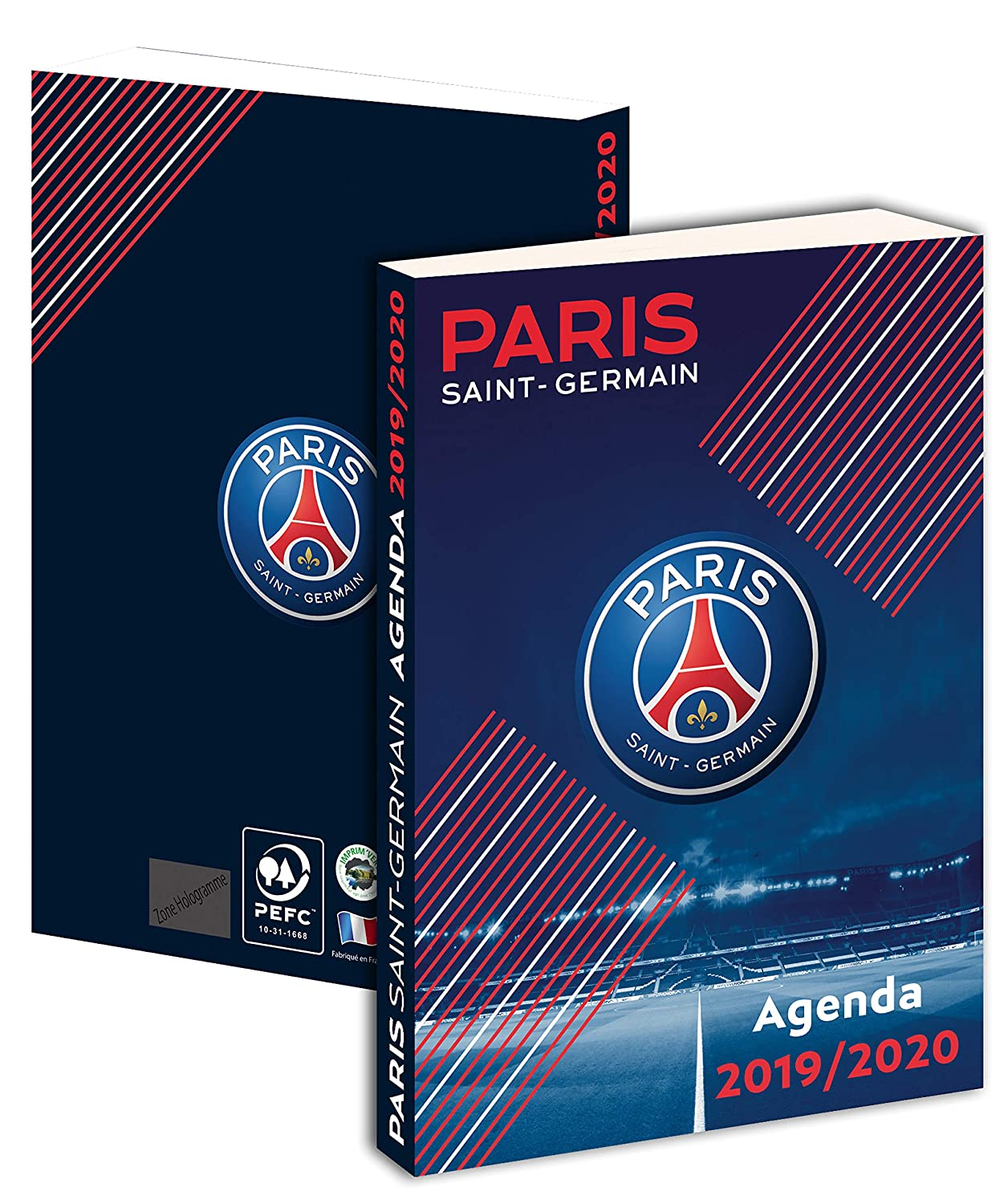 Agenda scolaire PSG 2018 / 2019 - Collection officielle PARIS Saint GERMAIN - Rentrée scolaire