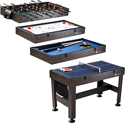 MD Sports Multi-Game Combination Table - Best 4-in-1 Combo Table