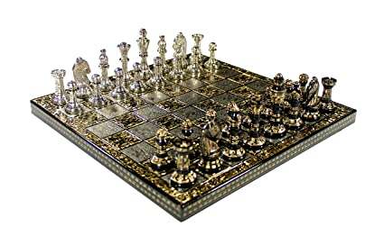 Amazon Com Xmas Sale Deal Stonkraft Collectible Full Brass Chess