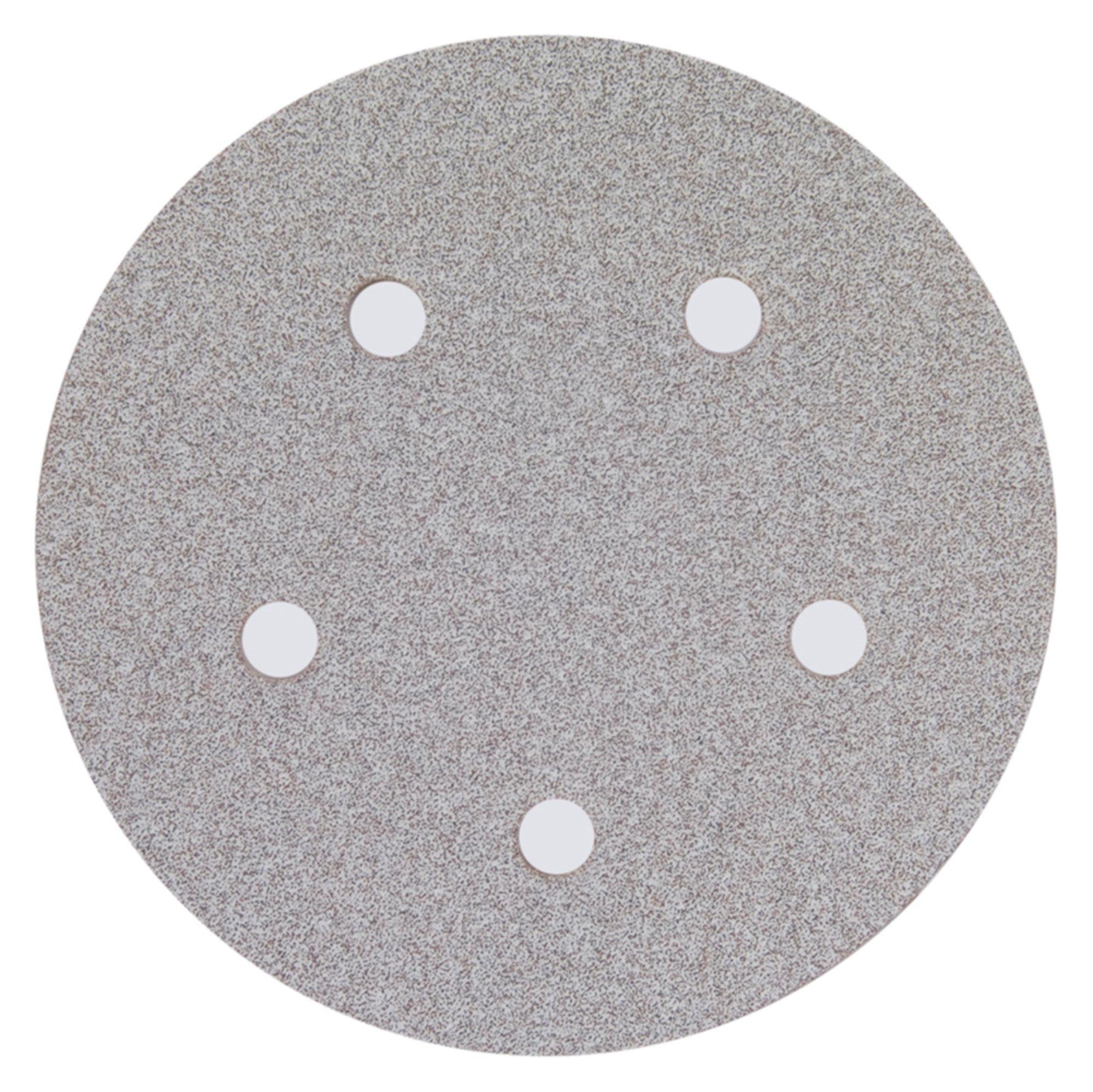 Abrasive Disc 5 Inch P120B A275 Vac D3328 100/Pack
