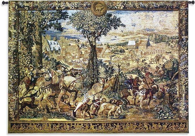 Fine Art tapices Caza Partes de archiduque Maximiliano Lana y ...