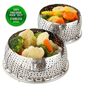 Best Vegetable Steamer Basket Reviews 2021 – Top 5 Picks 13