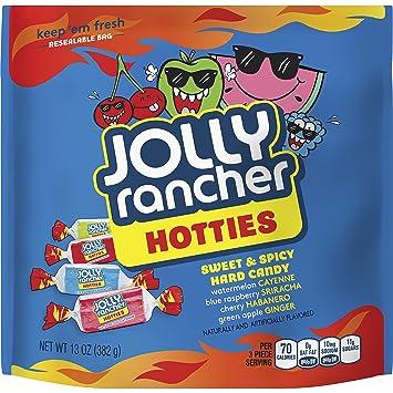 amazon com jolly rancher hard candy hotties 13 ounce grocery