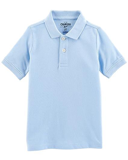 9fc3d075 Amazon.com: OshKosh B'Gosh Boys' Toddler Short Sleeve Uniform Polo: Clothing