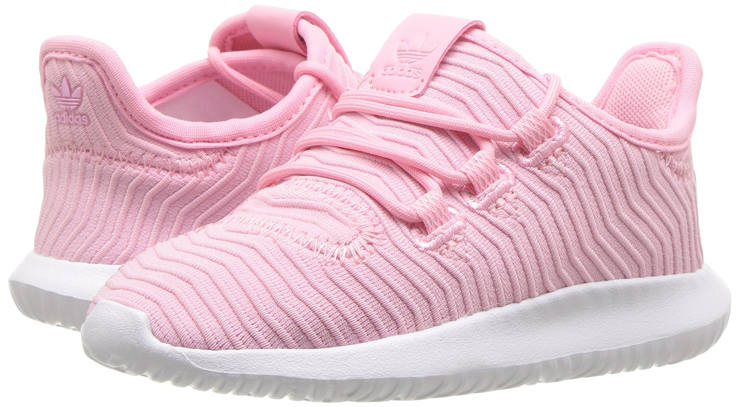 adidas Originals Baby Tubular Shadow Light Pink/White, 7K M US Toddler by adidas Originals (Image #5)