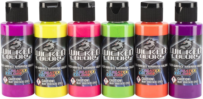 Set de  Colores Fluorescente Wicked