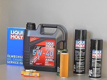 Mantenimiento Set Ducati 899 Panigale aceite de aceite Bujía Service Inspección: Amazon.es: Coche y moto