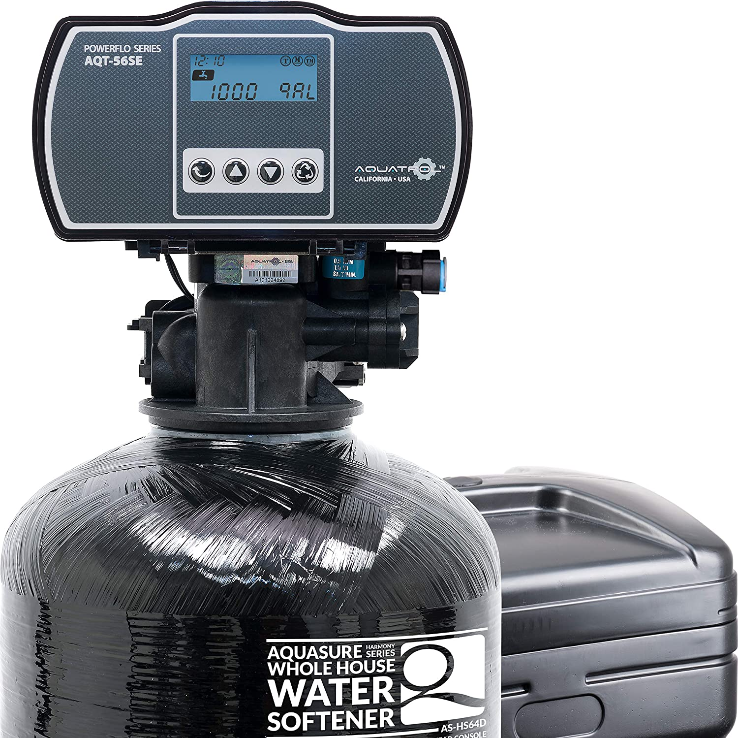 Aquasure Harmony Series 48,000 Grains Water Softener with High Efficiency Digital Metered Control Head (48,000 Grains)