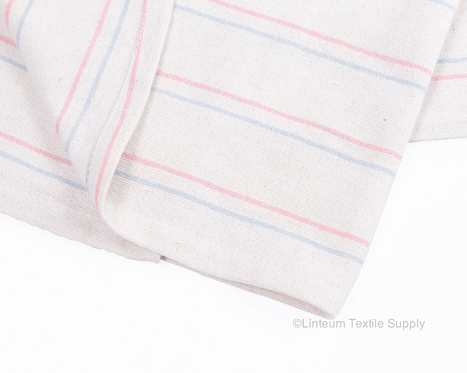Linteum Textile Receiving HOSPITAL BABY BLANKETS White w//Blue /& Pink Stripes Linteum Textile Supply LT3636BABY 12-Pack, 36x36 in