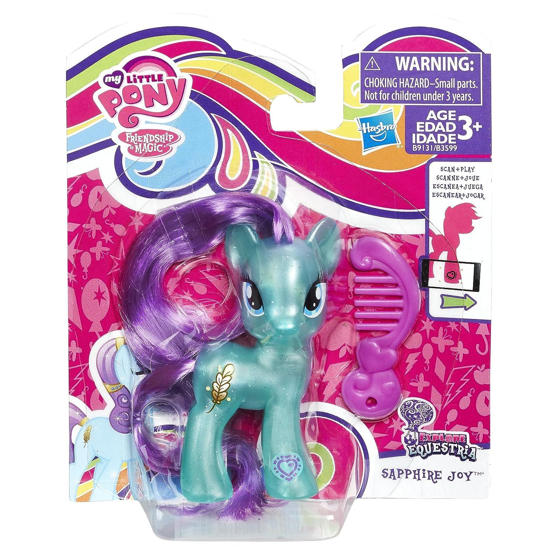 Amazon my little pony explore equestria sapphire joy toys games mightylinksfo