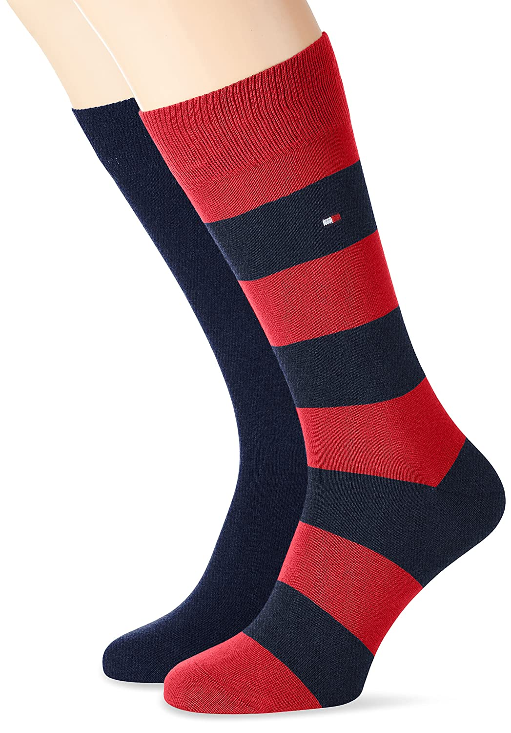 Tommy Hilfiger - TH MEN RUGBY SOCK 2P, Calze da uomo 342021001