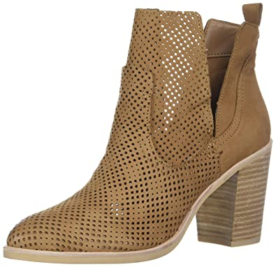 0a81db41f1a5 Dolce Vita Women s Shay PERF Ankle Boot tan Nubuck 6 ...