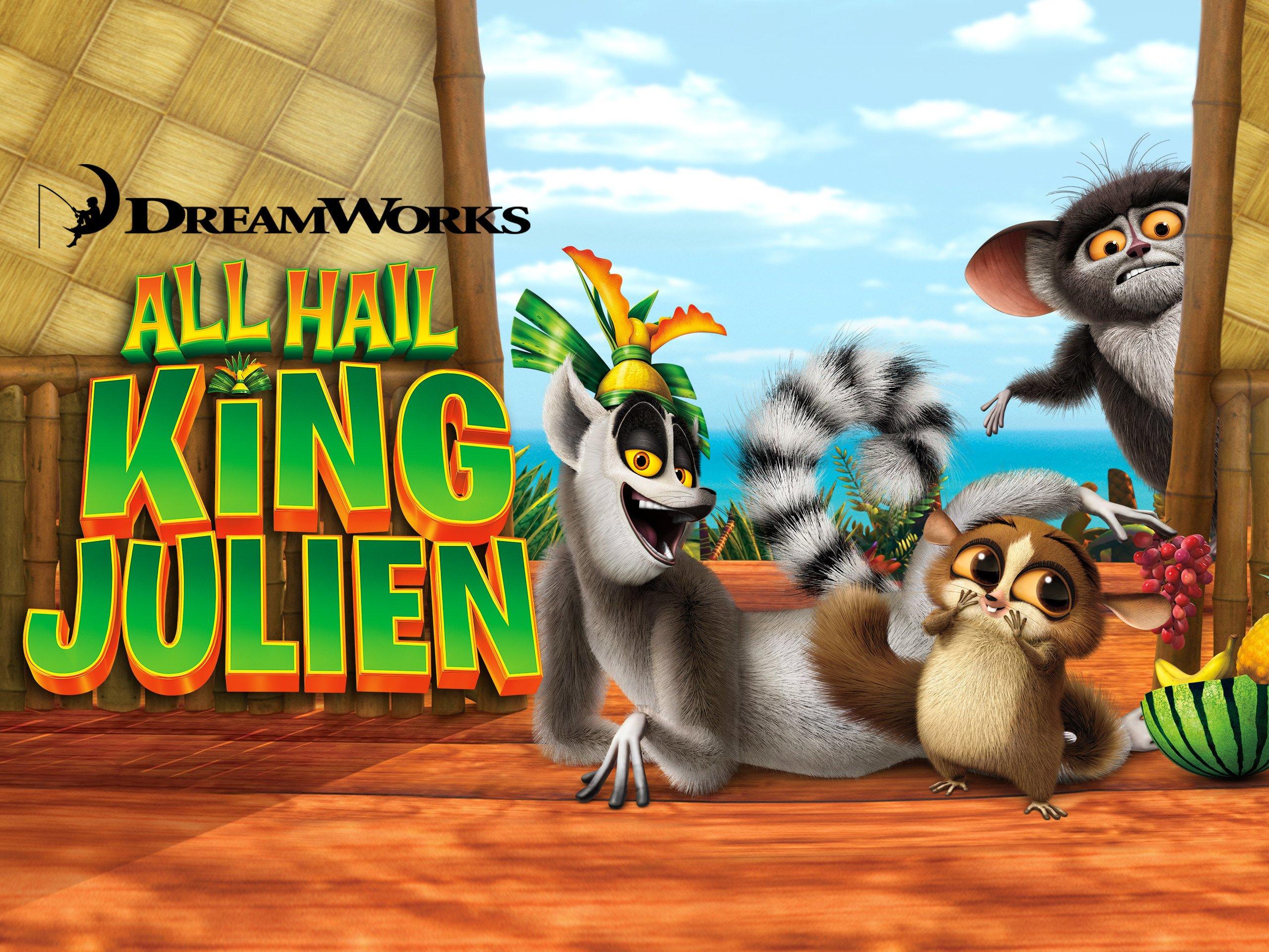 All Hail King Julien Clover