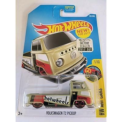 Hot Wheels 2020 HW Art Cars Volkswagen T2 Pickup 201/365, Tan: Toys & Games
