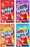Kool-Aid Unsweetened Drink Mix Packets, Assorted Flavors - Tropical Punch, Orange, Cherry, Grape, 96 Packets
