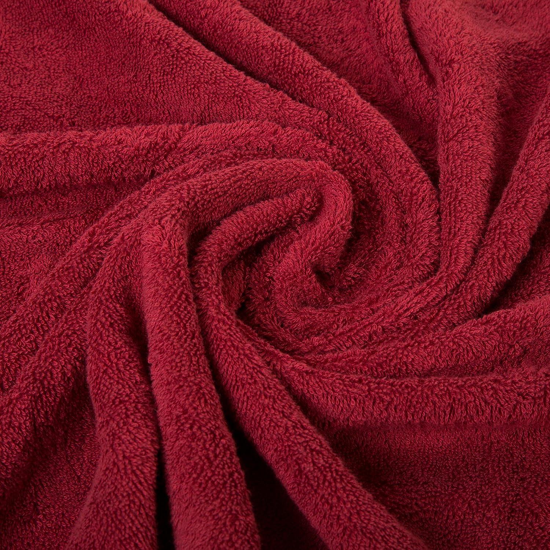 Spa /& Hotel Towels Quality Quick Dry Grey Towel Sets for Bathroom Shower Towel Qute Home Towels 100/% Turkish Cotton Gray Bath Towels Set Bath Towel - Set of 2 Gym Super Soft Highly Absorbent QTW452-BT-02PK