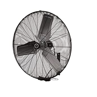 Ventilation Fans 30 Diameter TPI Corporation Single Phase Wall Mount Commercial Circulator Commercial Extractor Fans 120 Volt Exhaust Fan