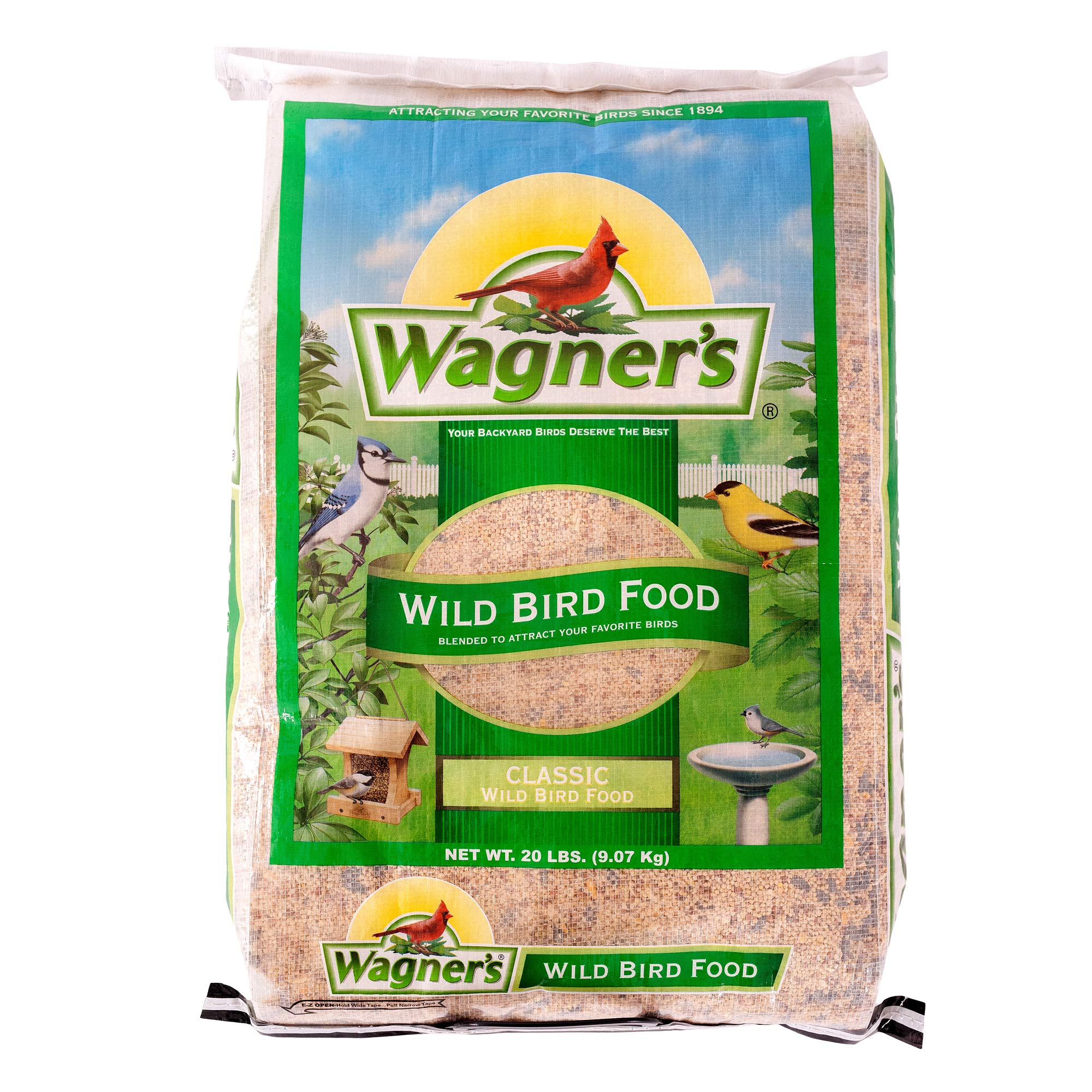 Wagner's 52004 Classic Wild Bird Food, 20-Pound Bag by Wagner's