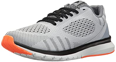 Reebok Men's Print Smooth Ultk Running Shoe, Cloud Grey/Black/Polar Blue/