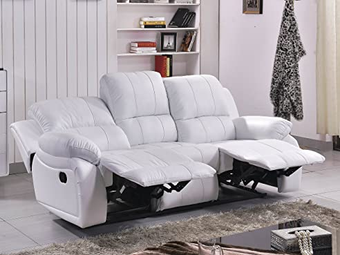 Voll-Leder Fernsehsessel Couch Sofa Relaxsessel Polstermöbel 5129 ...