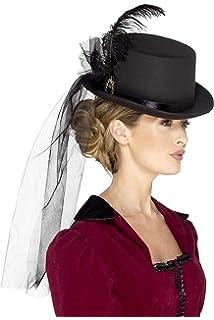 07756aef Amazon.com: Men's and Women's Top Hat; Victorian Riding Hat, Men's ...