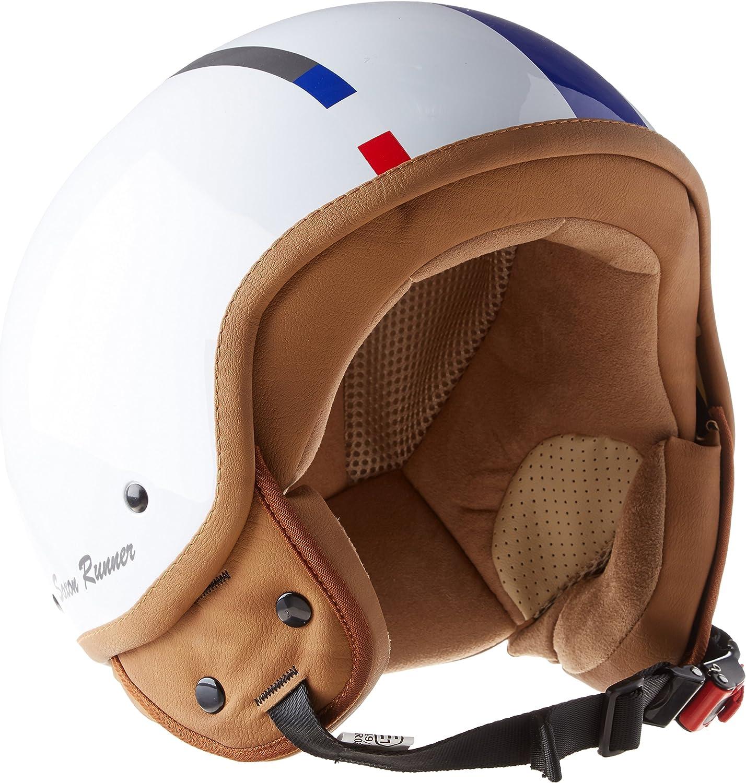 Compresi Sacchetto Portacasco Soxon SP-301 Moto Casco Demi-Jet 59-60cm Multicolore//Challenger L ECE Certificato