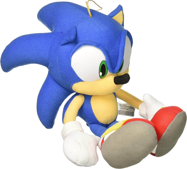 "GE Animation GE-52749 Sonic the Hedgehog 14"" Sonic Stuffed Plush"