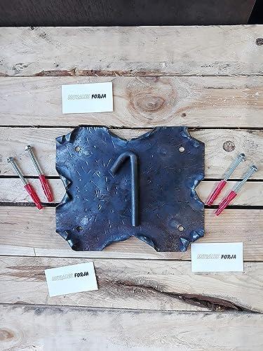 Pergamino de forja, cartel de forja con numero 1,SIN PINTAR ...