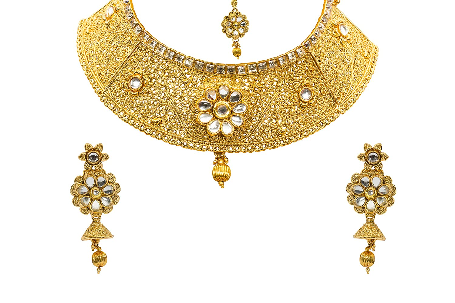 Buy Jewels Gold Traditional Beautiful Classy Simple Designer