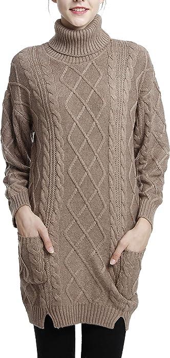 strickkleid winter merinowolle