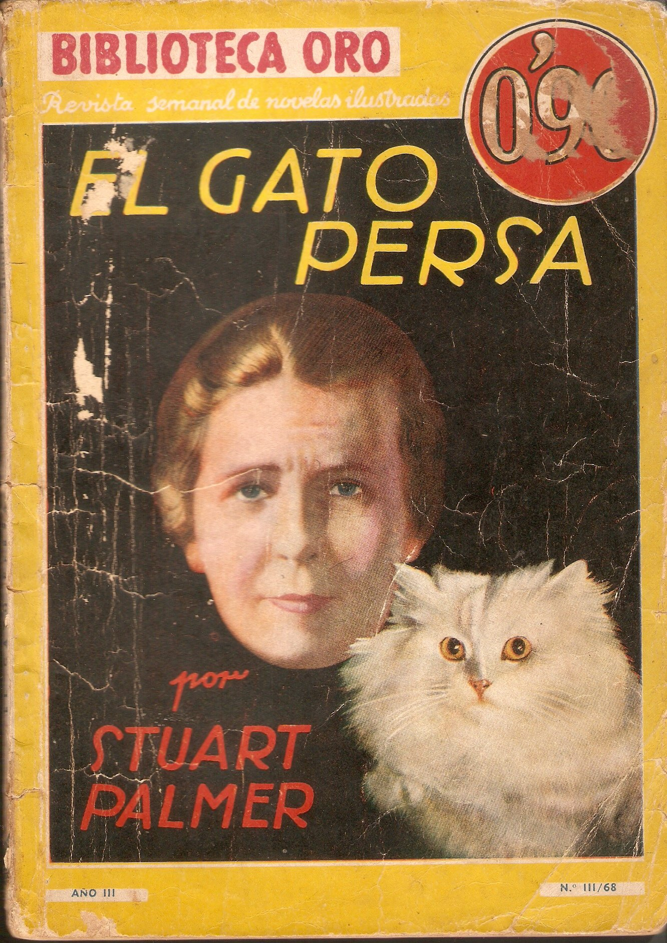 El gato persa. Novela Paperback – January 1, 1940