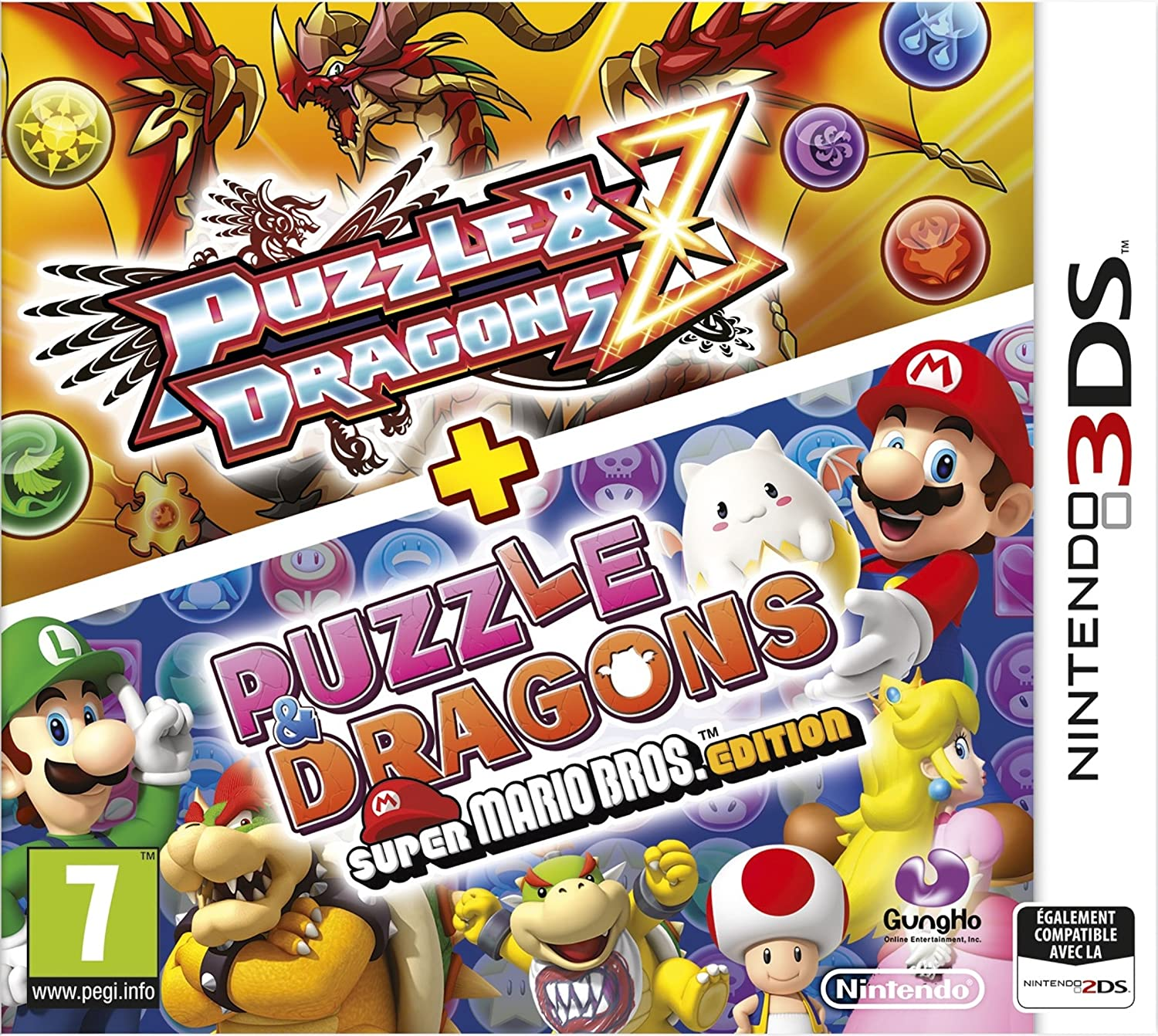 Puzzle & Dragons Z + Puzzle Dragons Super Mario Bros. Édition ...