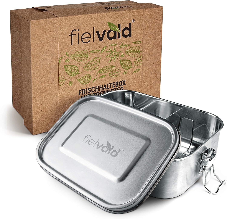 Fielvald - Edelstahl Lunchbox 800ml