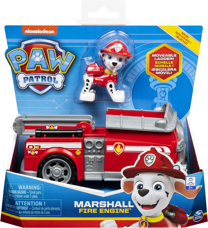 La Pat Patrouille 6054118 Jeu enfant Paw Patrol Figurine Chase V/éhicule