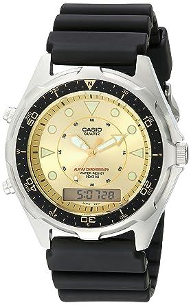 4ca5825049f0 Buy Casio Men s AMW320D-9EV Ana-Digi Alarm Chronograph Dive Watch ...