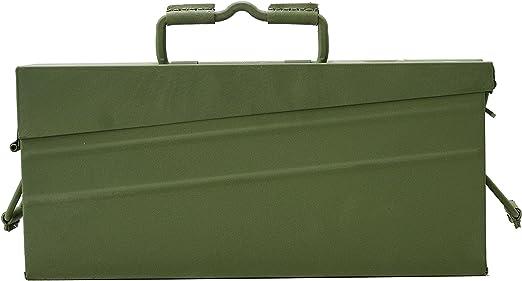 Original nuevo genuino alemán caja de munición metálico MG42 ...