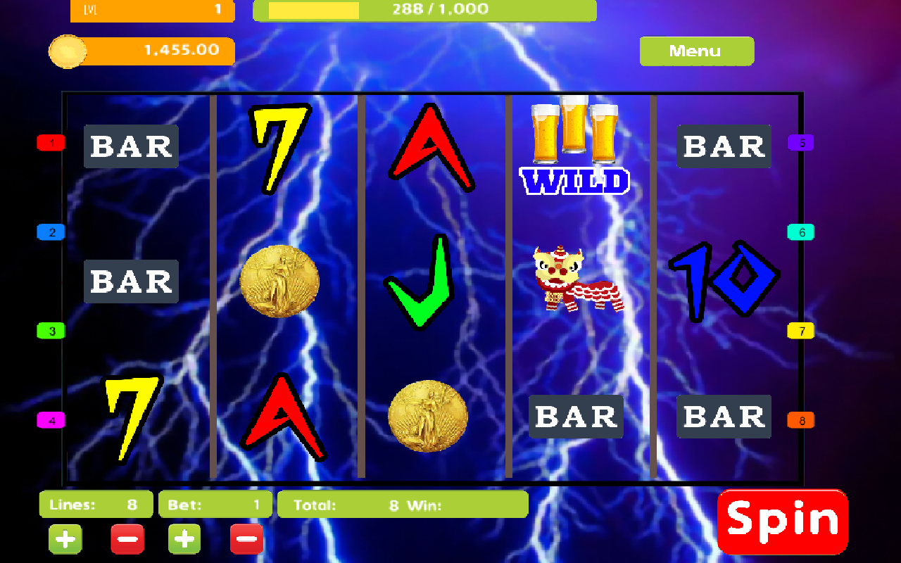 Lightning Bolt Slot Machine