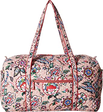 f832d39297 Image Unavailable. Image not available for. Color  Vera Bradley Women s  Iconic Large Travel Duffel ...