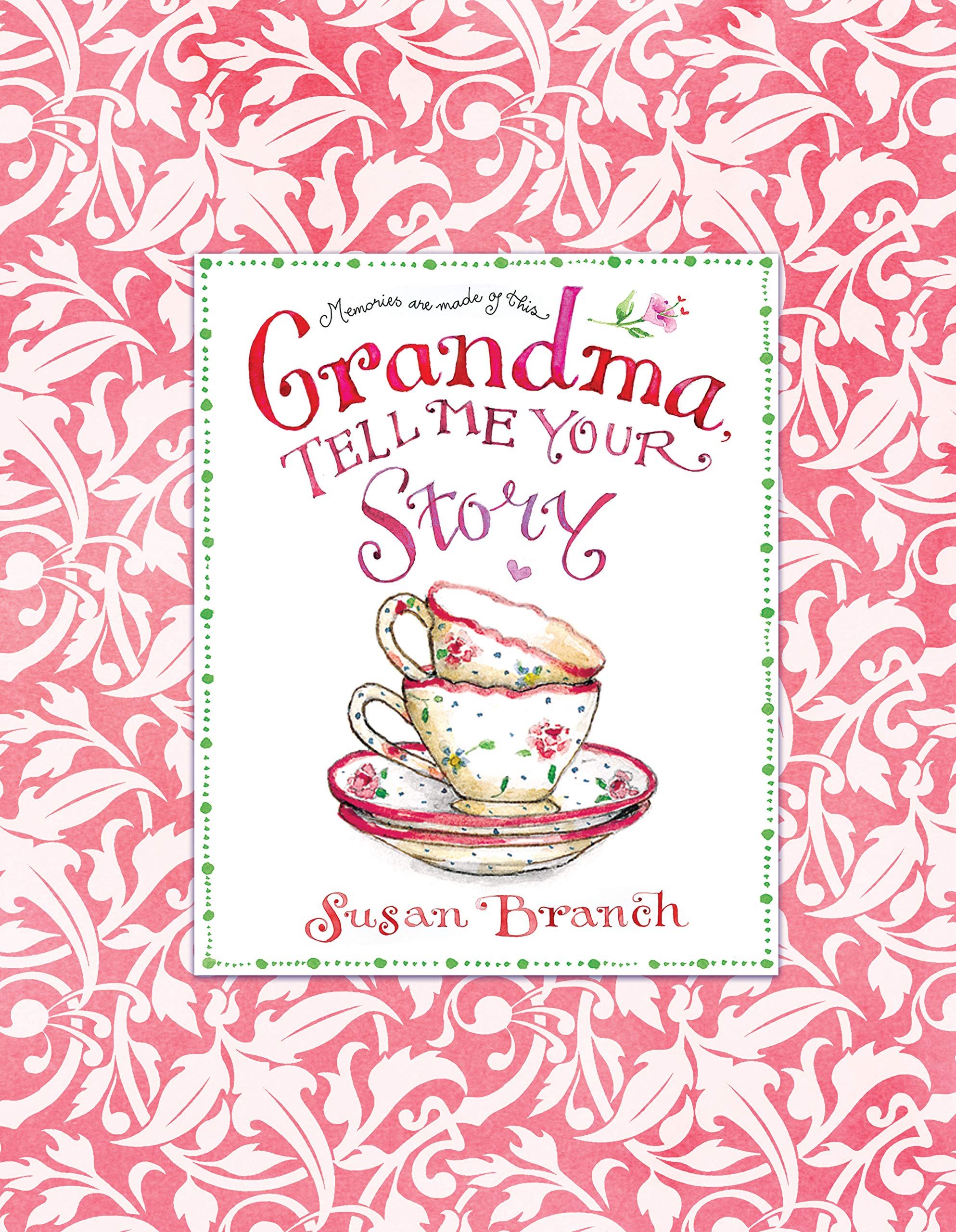 GRANDMOTHER TELL ME YOUR STORY RECORD A MEMORY JOURNAL BOOK FAMILY HISTORY .