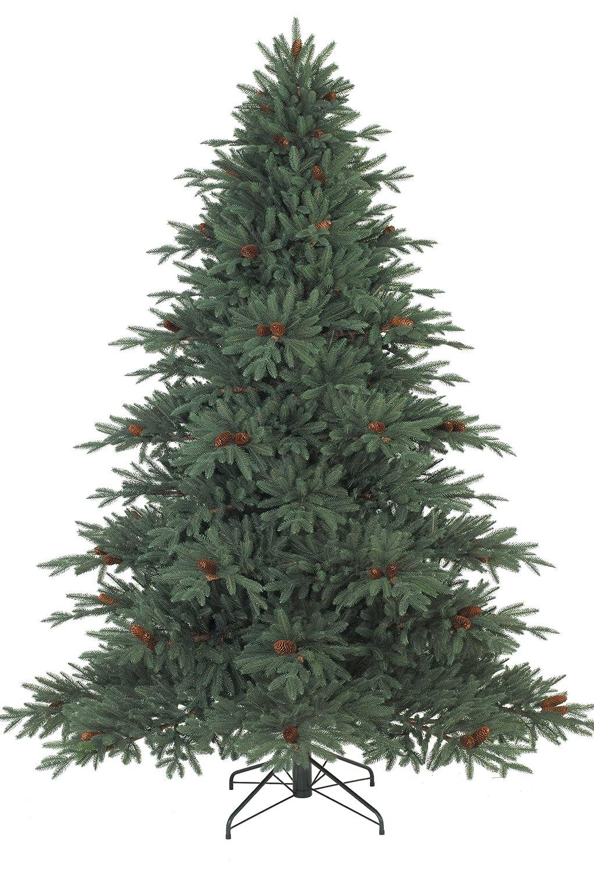 Amazon.com: 9' Balsam Hill Aspen Silver Fir Artificial Christmas ...