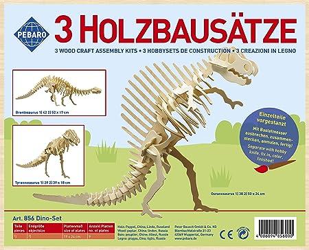 "Marabu KiDS 3D Puzzle /""T-Rex Dinosaurier/"" 29 Teile Holzbausatz"