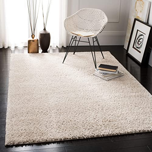 Safavieh August Shag Collection AUG900D Solid 1.2-inch Thick Accent Rug