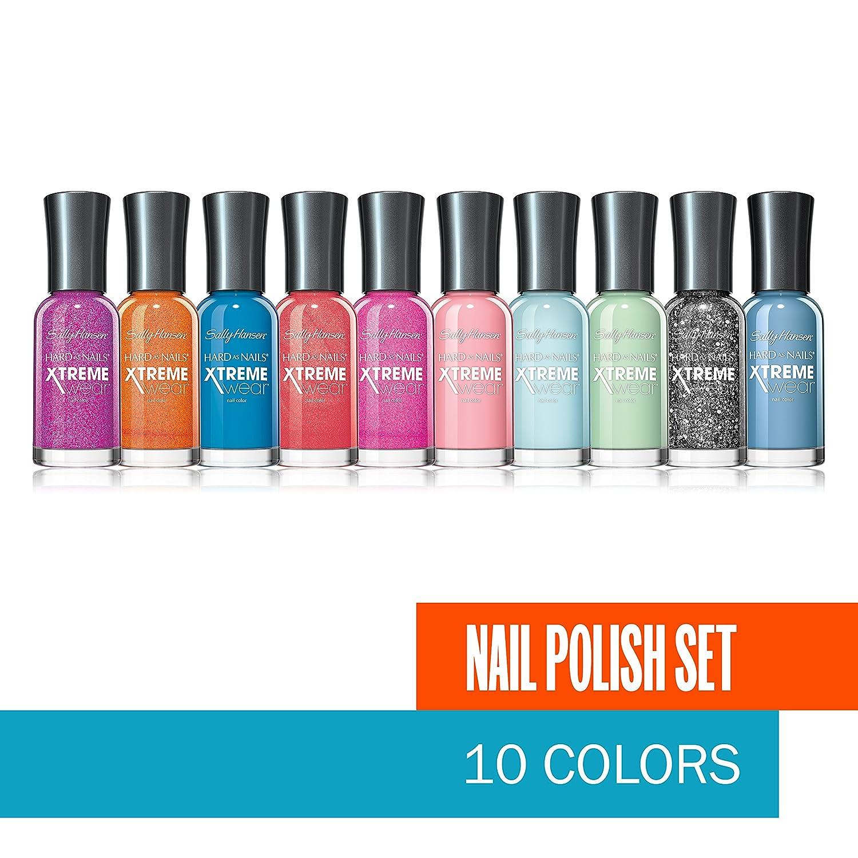 Amazon.com: Sally Hansen Xtreme Wear Colors Nail Polish Set ...