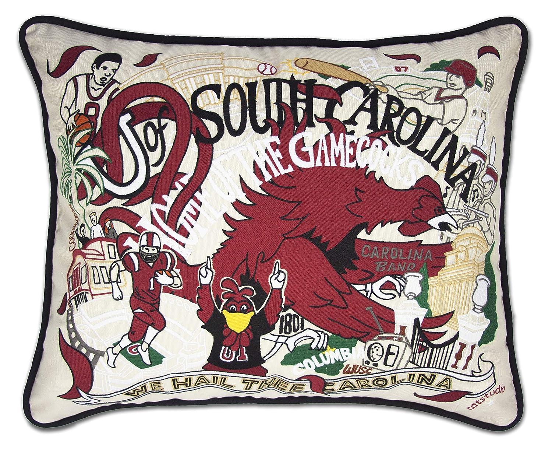 サウスカロライナ大学のCollegiate刺繍枕 – Catstudio   B01BVUI3SS